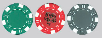 Casino Clay Chips Custom Imprinted