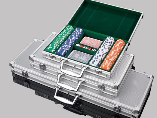 Aluminum Poker Chip Cases