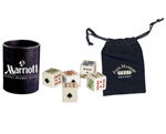 Poker Dice in Bag or Cup