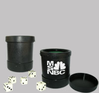Custom Imprinted Dice Cups with Lid