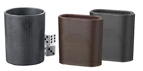 Plastic Blank Dice Cups for Games