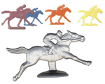 Horse and Rider Game Pieces