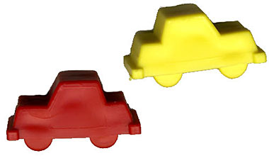 Plastic Molded Car Markers