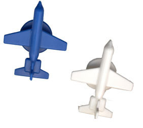Plastic Airplane Game Markers