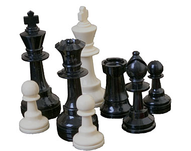 Staunton Plastic Chess Pieces