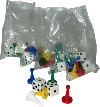 Pre-Bagged Game Pieces