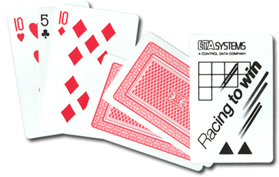 large 3 card monte card trick