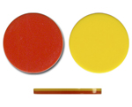 Two Color Plastic Discs